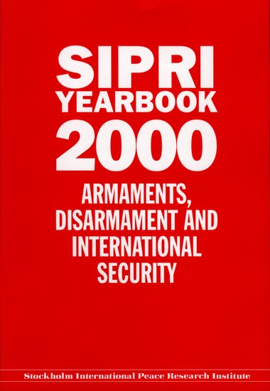SIPRI yearbook 2000 cover