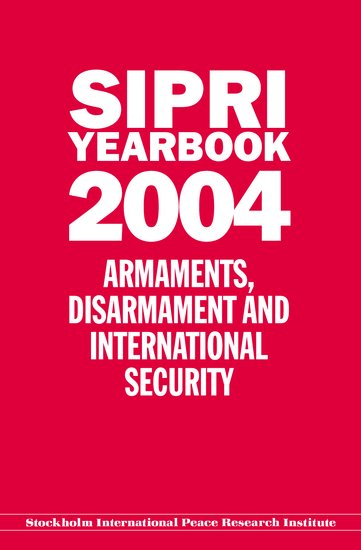 SIPRI yearbook 2004 cover