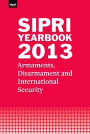 Cover SIPRI Yearbook 2013