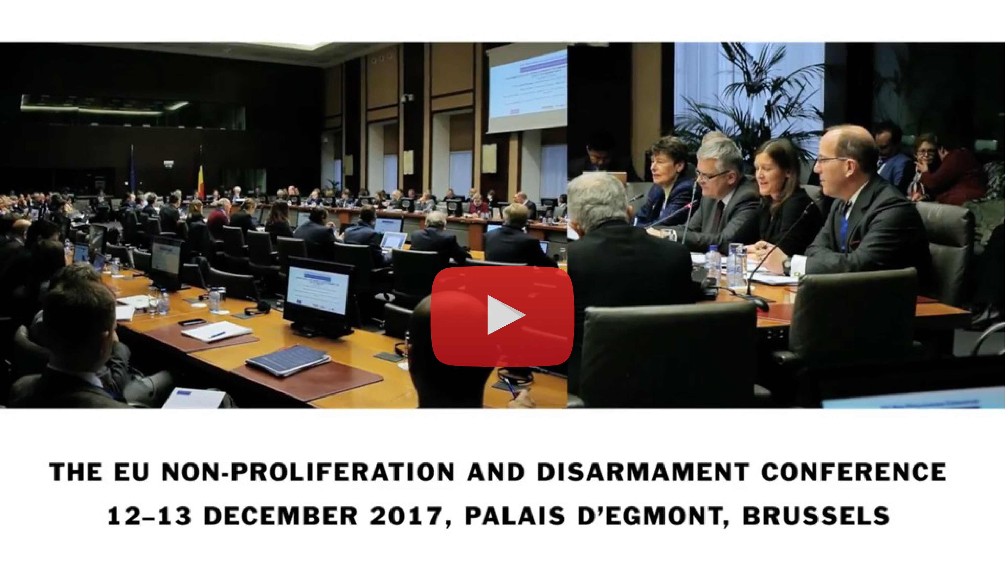 The EU Non-Proliferation and Disarmament Conference