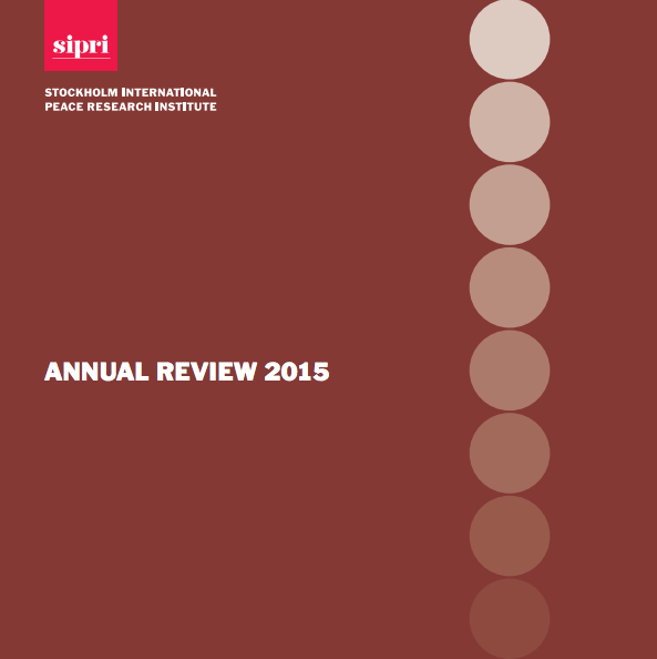 SIPRI Annual Review 2015 booklet