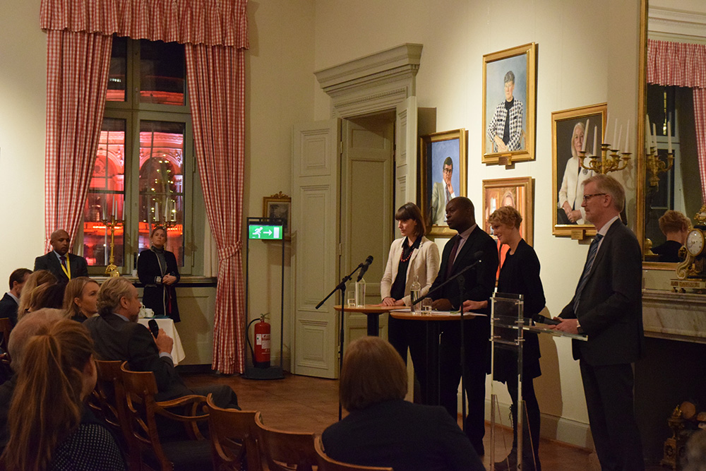 SIPRI climate report launch December 2016