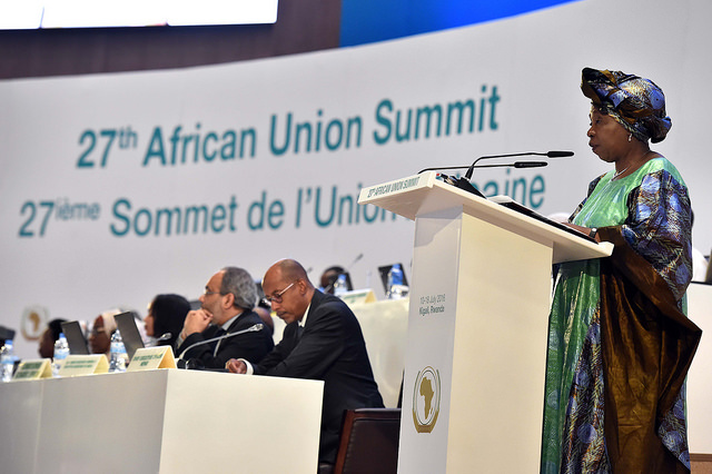 African Union summit in 2016