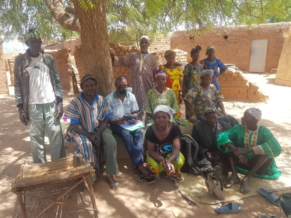 Project facilitators in Mali's Ségou region
