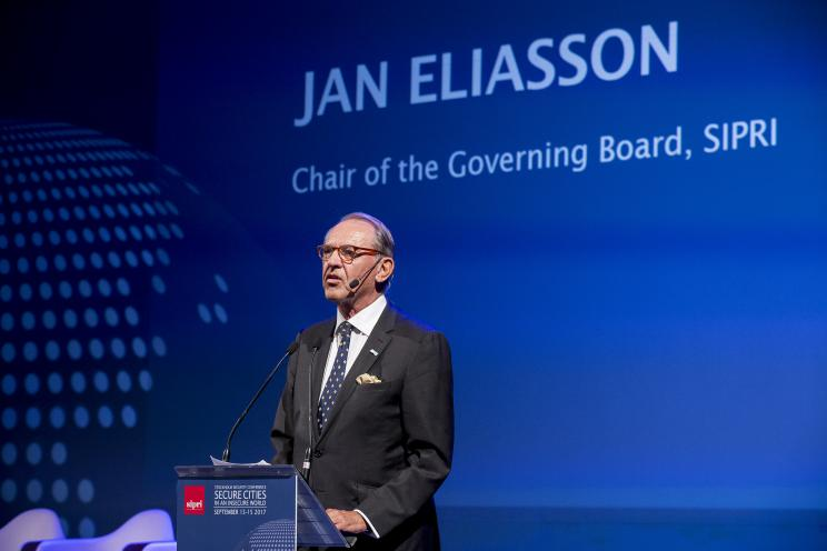Chair of the SIPRI Governing Board, Jan Eliasson