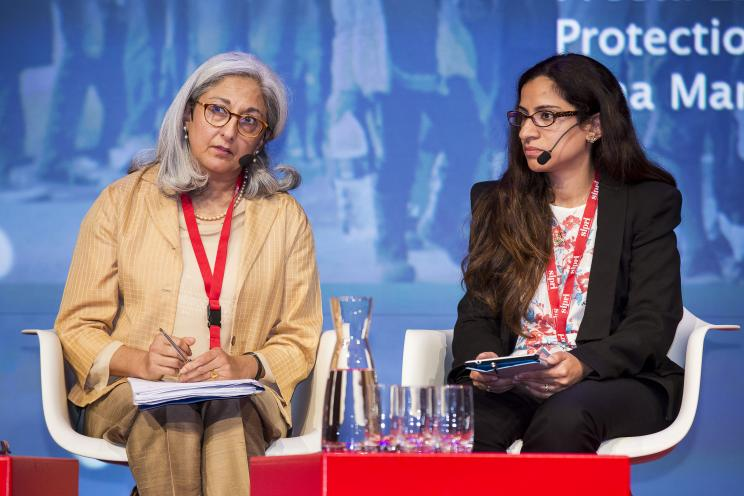Preeta Law, UNHCR and Dina Mansour-Ille, Overseas Development Institute