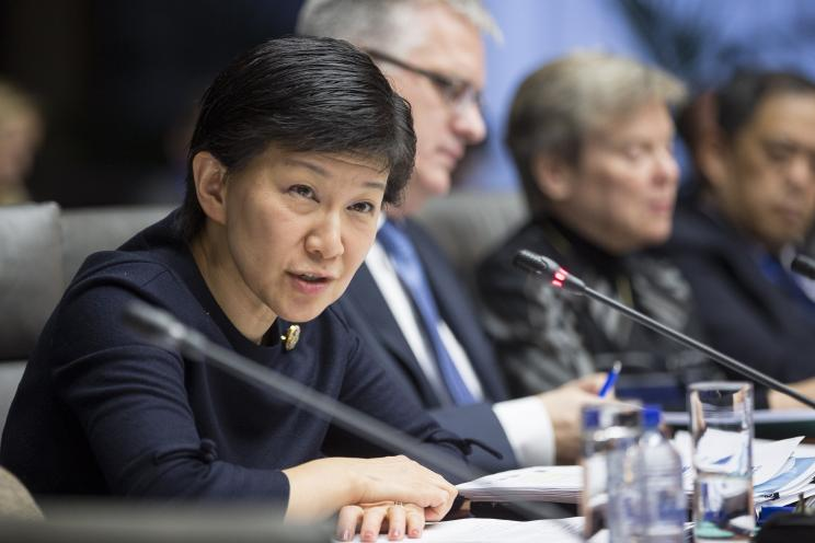 Izumi Nakamitsu, UN Under-Secretary-General and High Representative for Disarmament Affairs. Photo: Erik Luntang