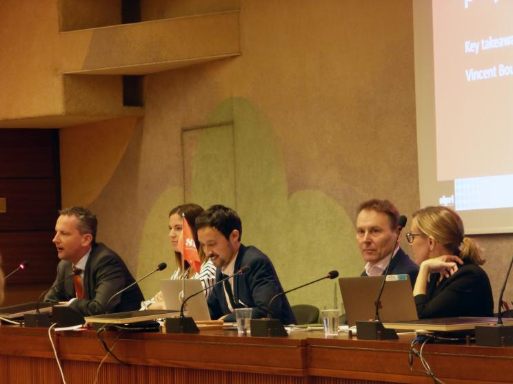 Autonomy in Weapon Systems side event at the United Nations in Geneva