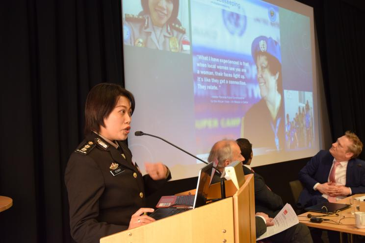 Lt Col Ms Venny Yulius, Police Superintendent, Republic of Indonesia