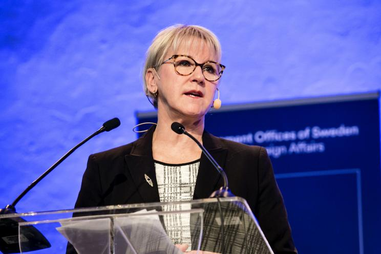 H.E. Margot Wallström, Minister for Foreign Affairs, Sweden