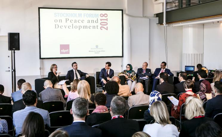 Parallel session on 'Financing mechanisms for addressing violent conflict risks'