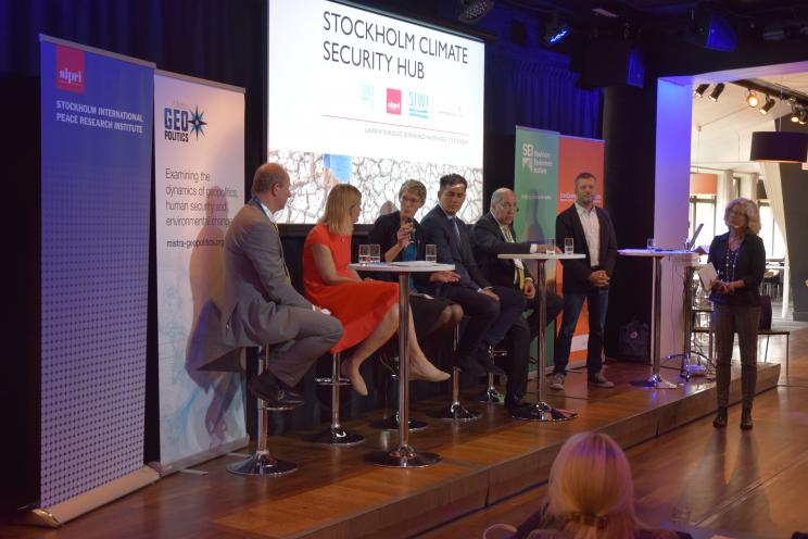 Stockholm Climate Security Hub launch