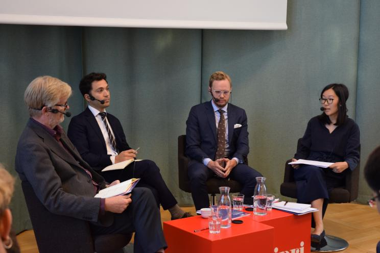 SIPRI panel discussion during 'Security implications of China's 21st Century Maritime Silk Road' event