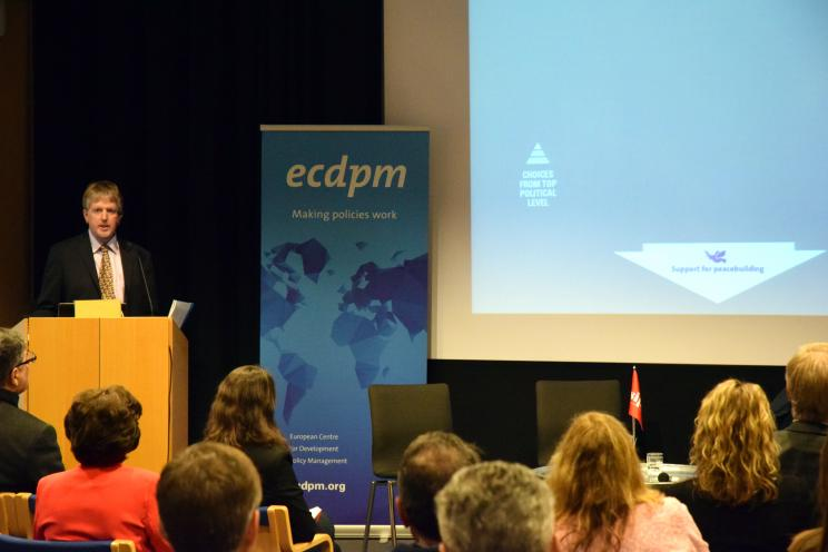 Andrew Sherriff, Head of European External Affairs Programme, European Centre for Development Policy Management