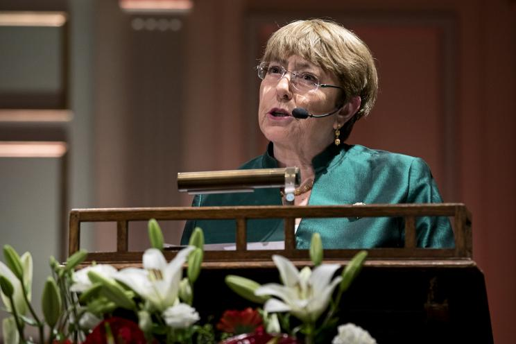 HE Michelle Bachelet, United Nations High Commissioner for Human Rights