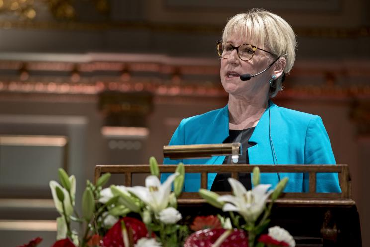HE Margot Wallström, Minister for Foreign Affairs, Sweden