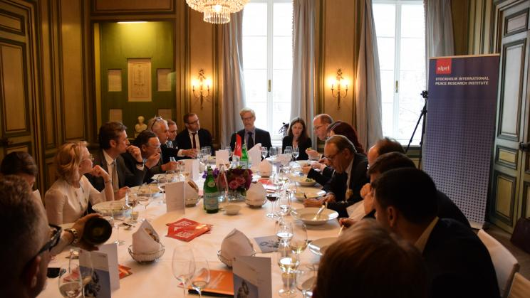 SIPRI at the Munich Security Conference
