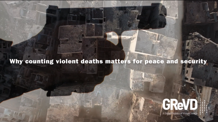 Why counting violent deaths matters for peace and security