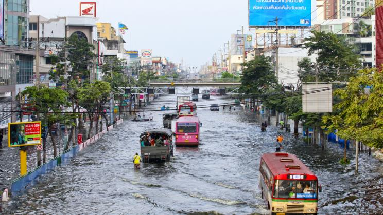 Flooding in Bangkok, September 2011
