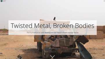 Launch of story map on anti-vehicle mines