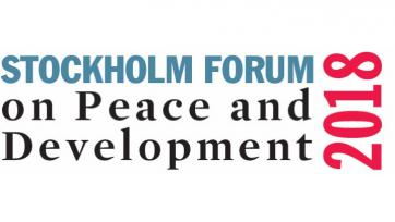 2018 Stockholm Forum on Peace and Development