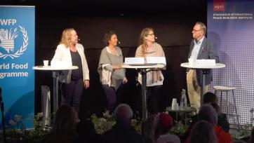 Almedalen: SIPRI partners with World Food Programme to discuss hunger and conflict in Mali