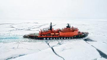 Russian Arctic icebreaker. Photo: Christopher Michel / https://bit.ly/34cDHxM