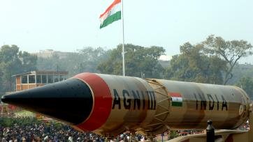 Agni-III Missile, New Delhi, 26 January 2008