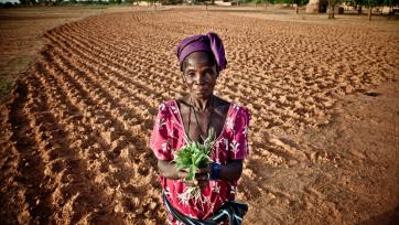 Woman in Burkina Faso, 2012
