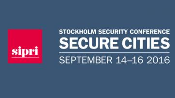 Stockholm Security Conference on Secure Cities