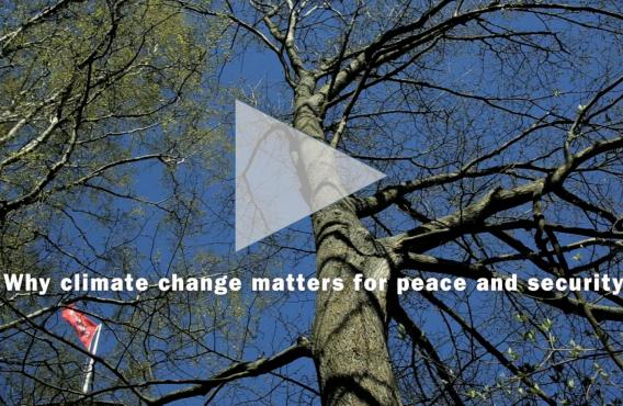 SIPRI launches film on climate change, peace and security