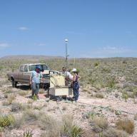 Installation of Primary Seismic Station PS46 Lajitas, USA. Photo: Flickr/The Official CTBTO Photostream
