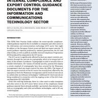 SIPRI Good Practice Guide: Export Control ICP Guidance Material no. 2