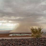 Extreme weather at ALMA. Photo: Flickr/European Southern Observatory