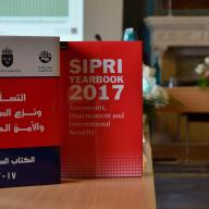 SIPRI and partners launch Arabic translation of SIPRI Yearbook 2017 in Alexandria