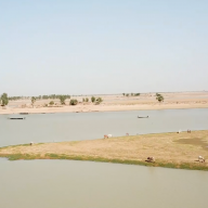Niger River in central Mali, image still from film.