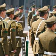 Alex Proimos / Military Parade, Santiago