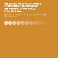 WFP country report cover for Kyrgyzstan