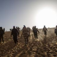 UN Peacekeepers Arrive at Niger Battalion Base in Eastern Mali/UN Photo