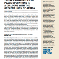 Greater Horn of Africa dialogue - SIPRI workshop report