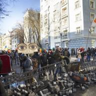 Anti-government riots in Kyiv, February 2016. Photo: Roman Mikhailiuk / Shutterstock