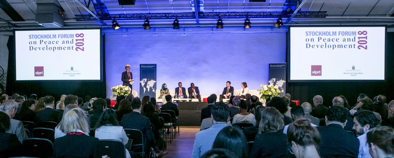 The politics of peace in focus at fifth Stockholm Forum on Peace and Development