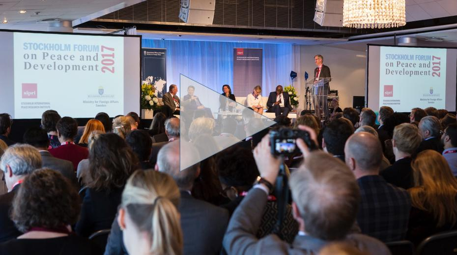 SIPRI launches Stockholm Forum Film