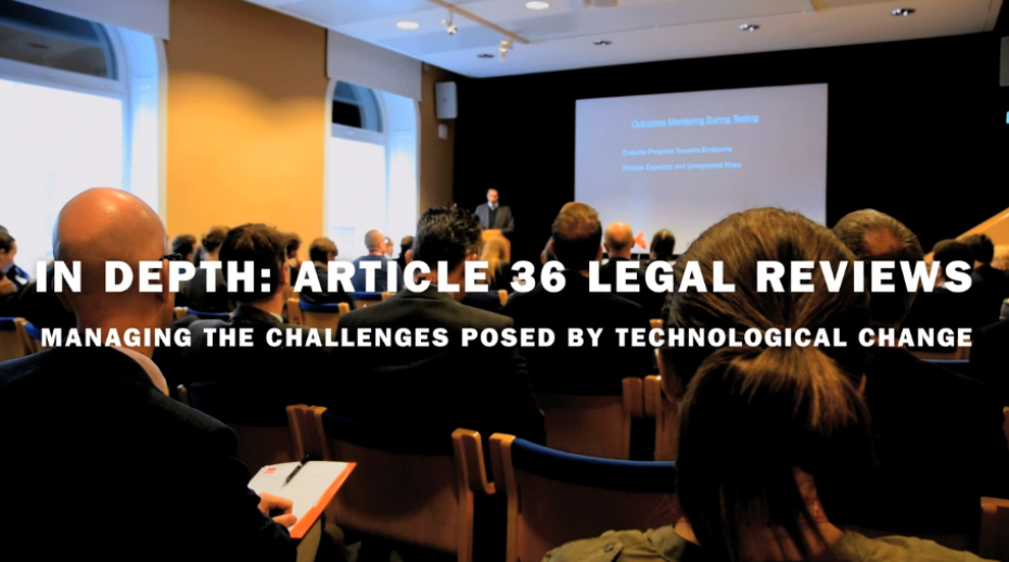 New SIPRI film: Article 36 reviews – dealing with the challenges posed by emerging technologies