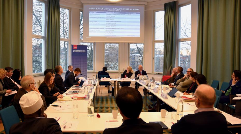 SIPRI hosts Japan–Europe–USA cybersecurity workshop