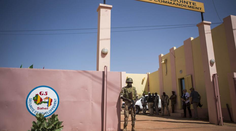 Headquarters of G5 Sahel joint force based in Sévaré
