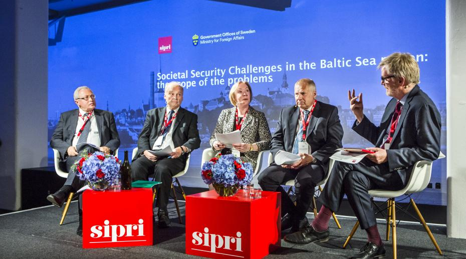 The opening plenary 'Societal security challenges in the Baltic Sea region: The scope of the problems