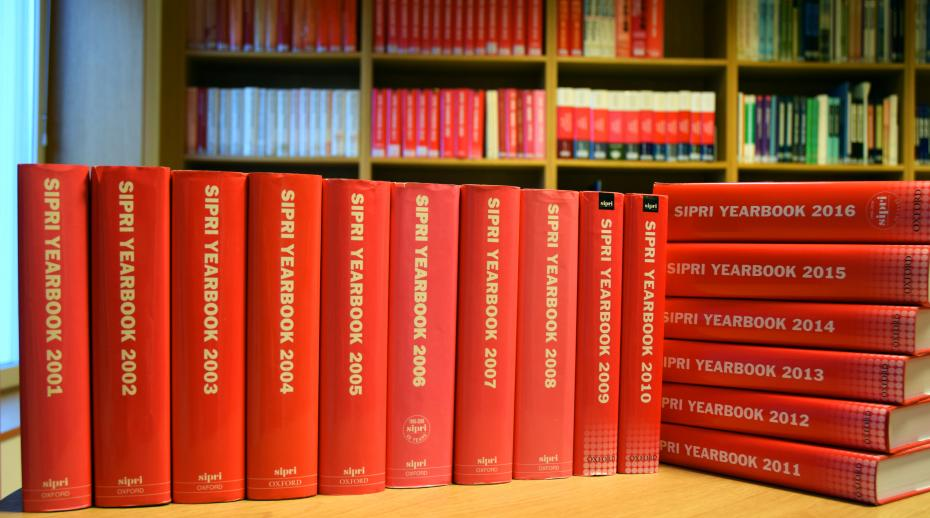 SIPRI Yearbook editions 2001–16 now freely available to download