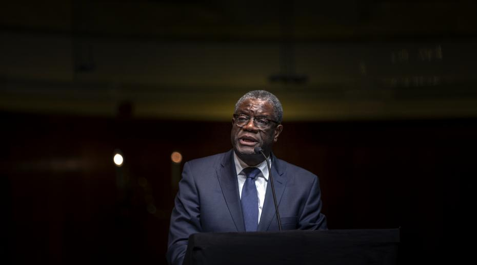 SIPRI co-organizes strategic roundtable with Nobel Peace Prize Laureate Dr Denis Mukwege