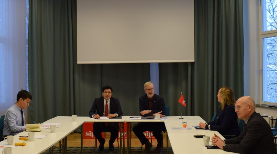 SIPRI signs cooperation agreement with Kazakh think tank